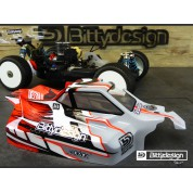 TKI4 Kyosho bittydesign carrosserie BDFRC-K004