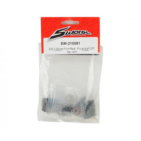 S35-3 Front/rear diff. SW-210081