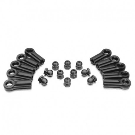 Gmade M4 Rod End with 6.8mm Steel Ball Nut (10) GM20174