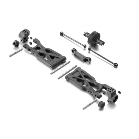 XRAY XB2 Dirt Rear Suspension Conversion Set 320900