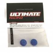 Pistons 16mm 8x1.3 inclinés Ultimate racing UR1712