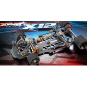 XRAY X12 2019 EU SPECS 1/12 PAN CAR
