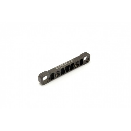 KYOSHO Rear Lower Sus. Holder (R/Gunmetal/MP10) IF610