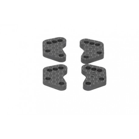 HB RACING D819 Hub Carrier Arm v2 no.3 (4pcs) HB204463