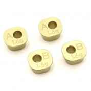 KYOSHO Brass Rear Hub Carrier Bush Set(MP10) IFW606