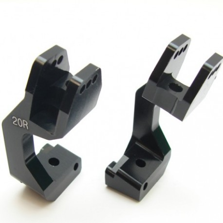 HB RACING Caster Block Set V4 (20 degree) HB204378