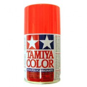 Spray rouge fluo Tamiya 100ml PS20