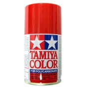 Spray rouge brillant Tamiya 100ml PS34