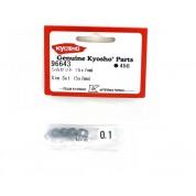 5x7mm rondelle de calage Kyosho (30) 96643