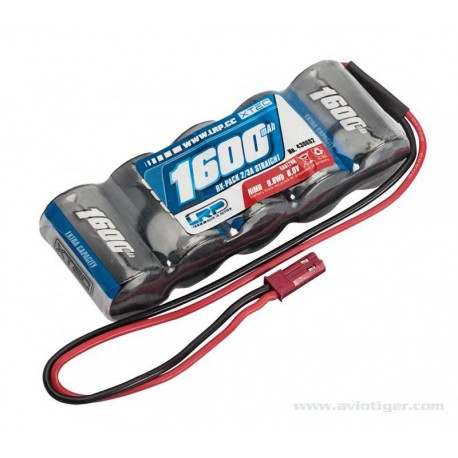 Pack accu RX 6V PLAT NIMH 1600