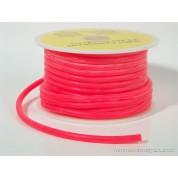 1 M de durite rouge fluo silicone 2.5 x 5.5 mm