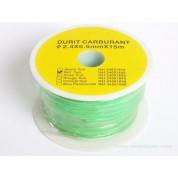 1 M de durite vert fluo silicone 2.5 x 5.5 mm