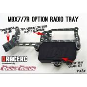 Fast race platine MBX7/R alu avec plot alu. FR2304-MU