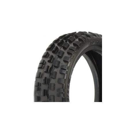 "PROLINE 'WEDGE SQUARED' 2.2"" Z3 MEDIUM CARPET 2WD FR TYRES"
