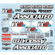 RC8B3e Decal Sheet 81305