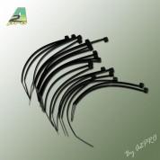 20x serre câbles noirs 100x2,5mm 16511