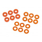 PRO 5/D413 -  WASHER SET 3X6MM (0.5MM/1.0MM/2.0MM/ORANGE/6PCS) HB112797