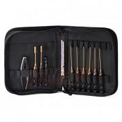 Arrowmax  Honeycomb Anniversary Ltd. Ed. (Black Golden)Toolset (10Pcs) With Tools Bag AM-199414